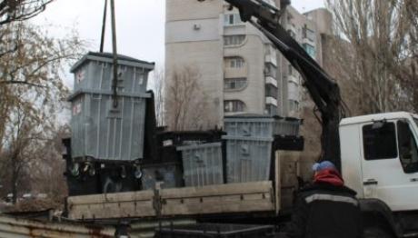 У Запоріжжі продовжують оновлювати контейнери для сміття