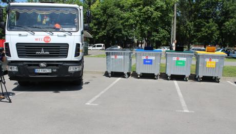 Идея сортировки мусора станет ментальным признаком жителей Запорожья