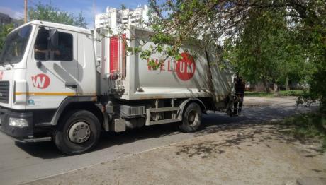 На підприємстві «Вельтум-Запоріжжя» розповіли, як вивозили сміття після Дня Незалежності