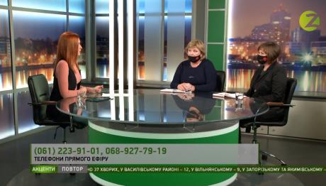 Обговорення питання прибирання в програмі «Акценти» на телеканалі Z