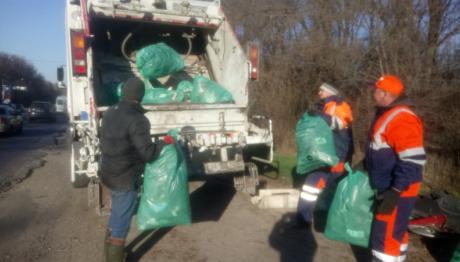 Предприятие «Вельтум-Запорожье» провело акцию по уборке стихийных свалок