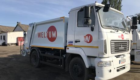 ТОВ «ВЕЛЬТУМ-Запоріжжя» придбало 4 нових сміттєвози.