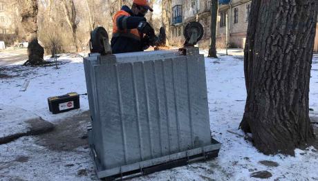 «ВЕЛЬТУМ-Запоріжжя» продовжує ремонтувати та замінювати пошкоджені  контейнери