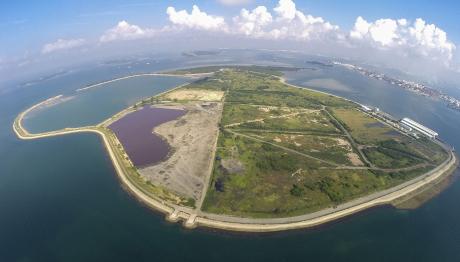 Штучний острів зі сміття
