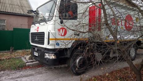 В частном секторе начала работать новая мусороуборочная техника