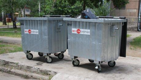 У Запоріжжі облаштовують нові контейнерні майданчики