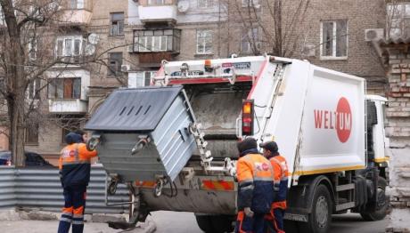 Запорожцы будут меньше платить за вывоз мусора