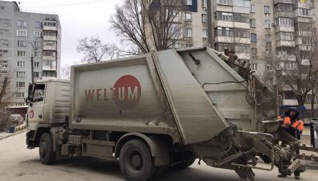 «ВЕЛЬТУМ-Запоріжжя» продовжує вивозити сміття