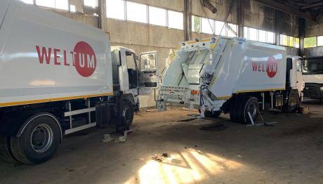 В Запорожье появятся новые мусоровозы