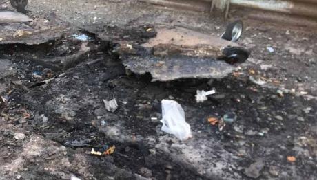 За год в Запорожье сожгли 125 контейнеров для мусора
