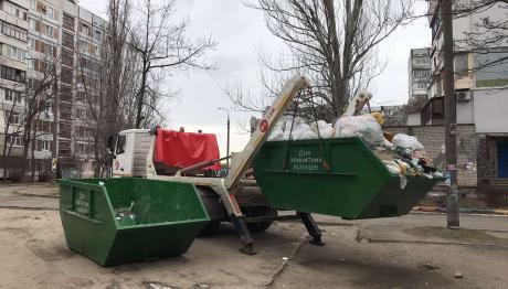 «ВЕЛЬТУМ-Запоріжжя» розпочало вивезення ремонтних відходів